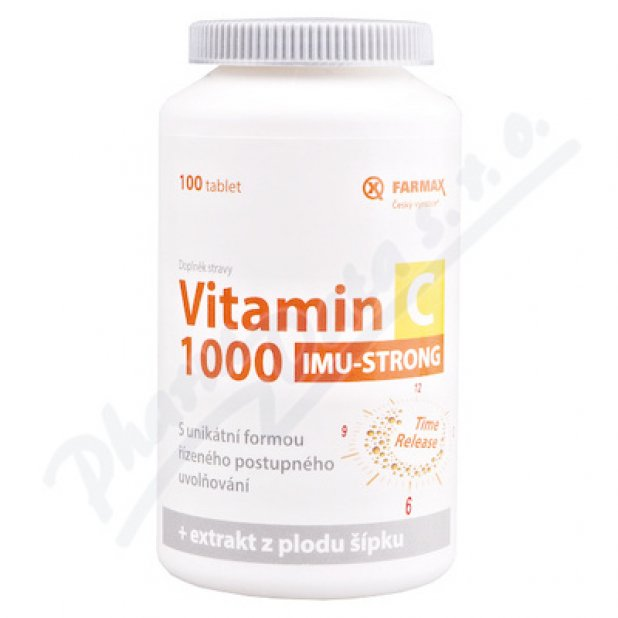 Vitamin C 1000 IMU-STRONG tbl.100