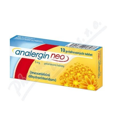 Analergin Neo 5mg por.tbl.flm.10x5mg