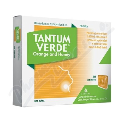 Tantum verde Orange and honey orm.pas.40