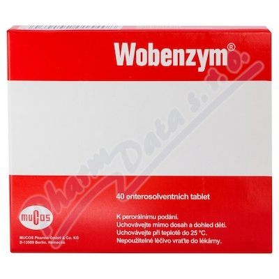 Wobenzym 40 enteros.tablet