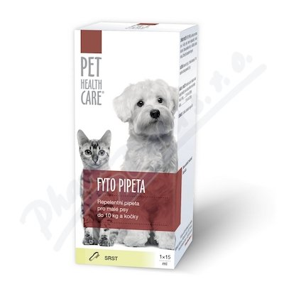 PHC Fyto pipeta pes+kočka do 10kg 1x15ml