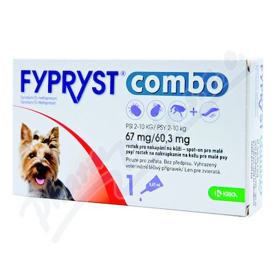 FYPRYST combo 1x0.67ml spot-on psy2-10kg