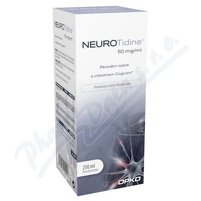 Neurotidine 50 mg/ml 250 ml