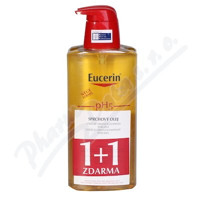 EUCERIN pH5 Relip.sprch.olej 400ml 1+1