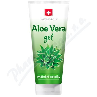 SwissMedicus Aloe vera gel 200 ml