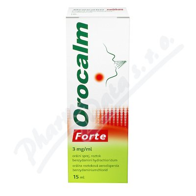 Orocalm Forte 3mg/ml oralni sprej 1x15ml