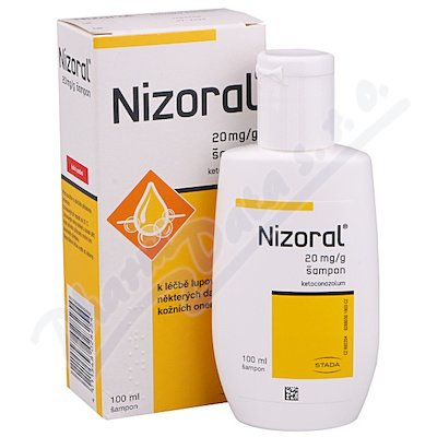 Nizoral 20mg/g sampon 100ml