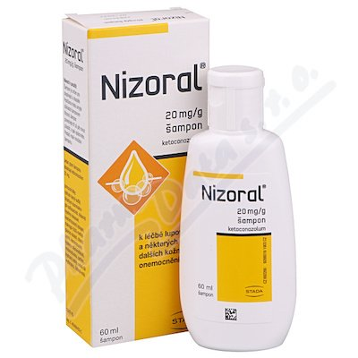 Nizoral 20mg/g sampon 60ml