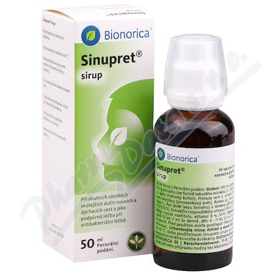 Sinupret sirup 50 ml