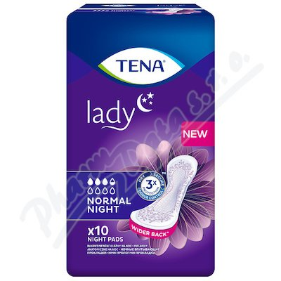 TENA Lady Norm.Night ink.vl.10ks 760765