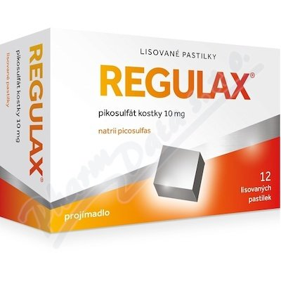 Regulax Pikosulfat kostky 12x10mg