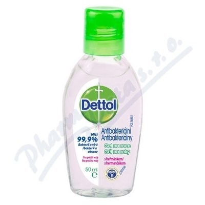 Dettol Antibakterialni gel heřm.50ml