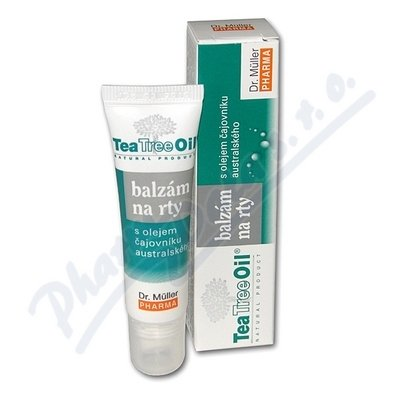 DR.MULLER Tea Tree Oil balzám na rty10ml